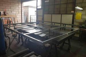 metalowa konstrukcja rogoźno